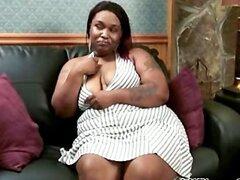 BBW Lala negro ébano corridas ébano tragan interracial africano ghetto bbc