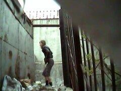 Chicas meando a voyeur video 279,