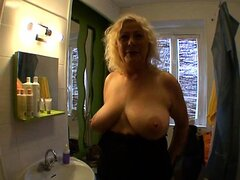 French mature Kate gangbang in all holes
