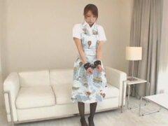 Chick Japon exóticos en adolescentes cachondas, escena de primer plano JAV