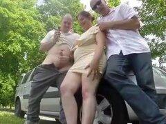 esposa gordita sexy folla a desconocido