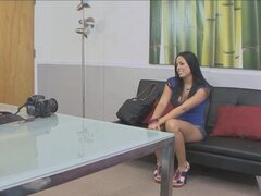 FakeProducer Casting Latina Hottie Blowjob
