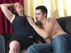 Abuela gordita le encanta Anal