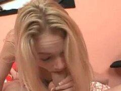 Hermosa teen chupa y folla mi polla de 12 pulgadas (1 video especial)