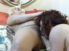 Abuelas Amateur lesbianas