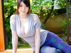 Asombrosa japonesa puta Rie Tachikawa en JAV más calientes sin censura clip de mamada,