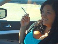 Christina Car fumar 120