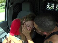 Rough fuck in the bang bus with Callie Calypso