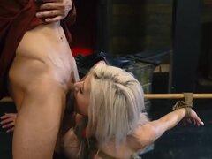 Bondage orgasmo castigo de pecho grande rubia de pecho novia Cristi Ann