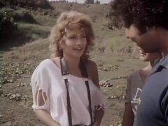 Ginger Lynn Allen, Lois Ayres, Bunny Bleu en clásico fuck video