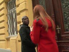 Culo de chico negro follando a mi esposa ella cums y paseos en su BBC todos
