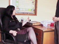Lady Boss da gran mamada CFNM