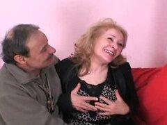 La adolescente italiano y viejo Nipoti pompino