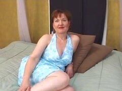 Atractiva mujer madura,
