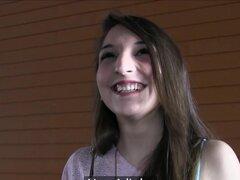 PublicAgent sexy española morena follada en una habitación de Hotel