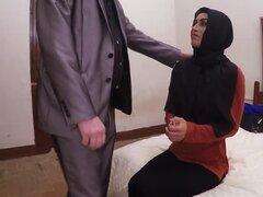 Árabes Ex novia que pega grande Dong en misionero