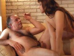Muy bella y sexy Eva Shanti agradables oldman