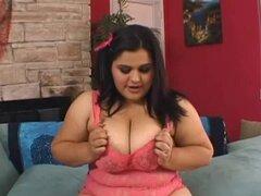 Chick chubby apasionado conseguir perforado en su castor peludas masiva - Carla