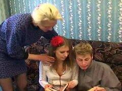diversión de la familia Ruso