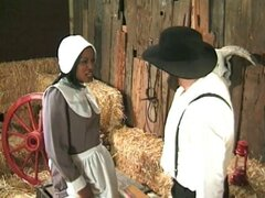 Granjero amish annalizes una sirvienta negra