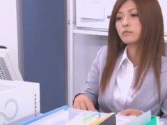 Japonés loco puta a Haruki Sato en pareja mejor, clip de ropa interior JAV