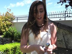 Tiny titted amorcito Lexi Lovell teniendo su butthole enorme roto - Lexi Lovell