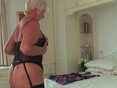 Una abuela en medias negras
