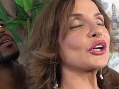 Busty Cougar Rebecca Bardoux Loves BBC Anal, Rebecca wants her first anal cream pie to be courtesy of big black cock and that's all the motivation Brian needs. Rebecca gets slammed by that huge black cock...