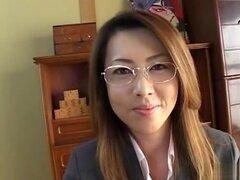 Asombrosa japonesa puta en Crazy Facial, video sin censura JAV