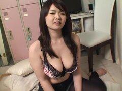 Fabulosa japonesa puta Aika Sawawatari en JAV increíble vídeo Hardcore sin censura,