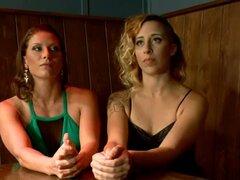 Humillación y Strapon follando a chica sumisa por dos Dominatrices - Ariel X, Mz Berlin