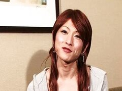 Hermosa Shemale japonesa Casting caliente