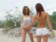 Masturbaciones adolescentes rusas en la playa