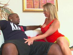 White wife cheats on her husband with a hung black guy - Maya Hills
