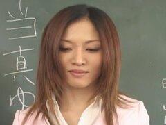 Impresionante guarra japonesa Yuki Toma en caliente corridas, película POV JAV