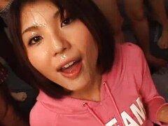 Azumi Harusaki hermosa chica asiática goza