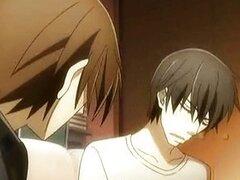 Anime gay besos y sexo hardcore