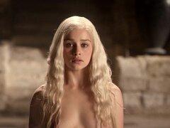 Emilia Clarke: Juego de tronos NudeSexyHot escenas