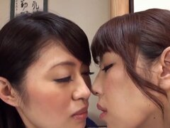 Disfrutan de hermosas mujeres japonesas chochos peludo del otro