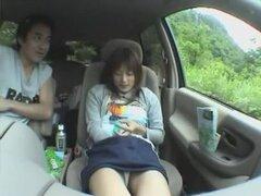 Japonesa caliente puta Ryoko Mitake de increíble camaras oculta, clip auto JAV