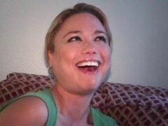 Rubia ansia boca latinas follando enorme polla en POV