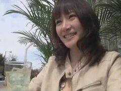 Japonés mejor puta Hotaru Yukino en primer plano increíbles, video de pareja JAV