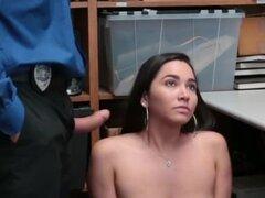 Peón mexicano policía robo de prendas de vestir