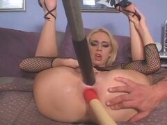nice kelly rough dp and huge anal insertions