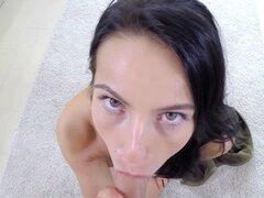 Lexi Dona muy apasionado sexo filmado en POV con s. 3D bastante Lexi Dona despierta su lujuria. Juega sensualmente con su novio que termina en sexo. Lexi dar sblowjob primero y luego ella se la follan duro filmado en POV con sonido surround 3D. Ella se do