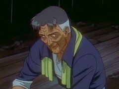 Coed atado anime se asomó desde atrás por pervertido. Coed atado anime se asomó desde atrás por pervertido